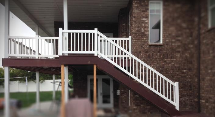 Vinyl Handrails Logan Utah