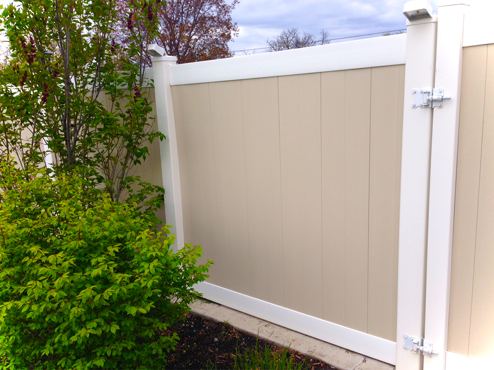 Vinyl Privacy Fence Asl Fence